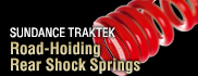 SUNDANCE-TRAKTEK Road Holding Rear Shock Springs
