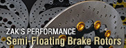 ZAK`S PERFORMANCE Semi-Floating Brake Rotors