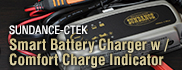 SUNDANCE-CTEK Smart Battery Charger W/Comfort Charge Indicator