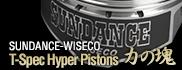 SUNDANCE-WISECO T-Spec Hyper Pistons