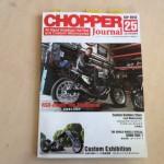 チョッパージャーナル誌 25号2015年9月27日発売